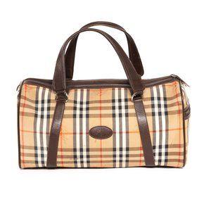 Burberry Duffle Bag - Damaged